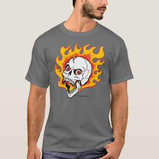 Flamey Skull T-Shirt