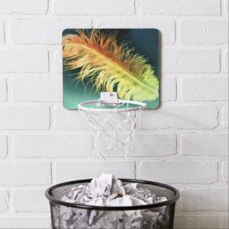 Flamin' Feather Mini Basketball Hoop