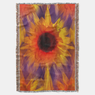 Flamin' Summer Throw Blanket