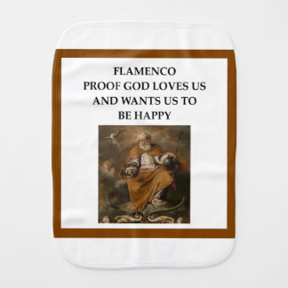 flaminco burp cloth