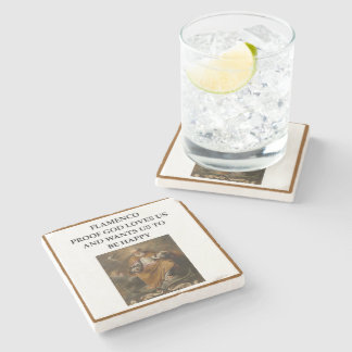 flaminco stone coaster