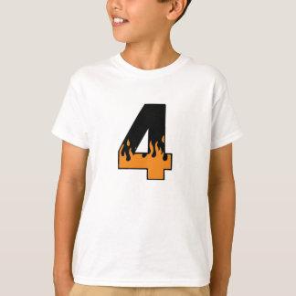 Flaming 4 T-Shirt