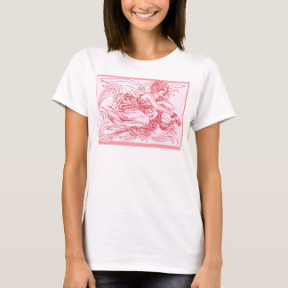 Flaming Autumn Phoenix T-Shirt