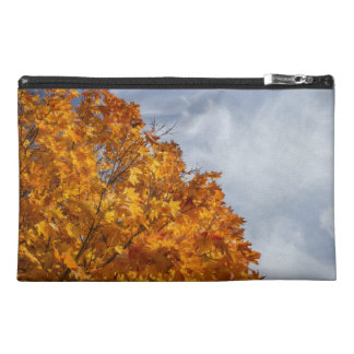 Flaming Autumn Travel Accessory Bags