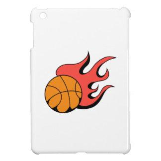 FLAMING BASKETBALL CASE FOR THE iPad MINI