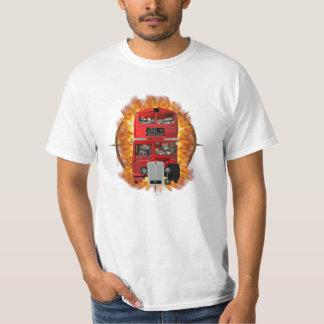 Flaming Bus T-Shirt