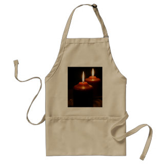 Flaming Candles Aprons