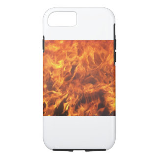 flaming cover, burning flames iPhone 7 case