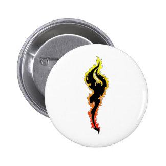 Flaming Demon (fire devil) Pins