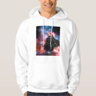 Flaming Freight Train Hoodie