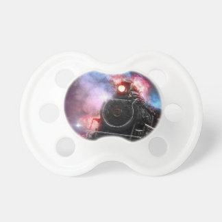 Flaming Freight Train Pacifier