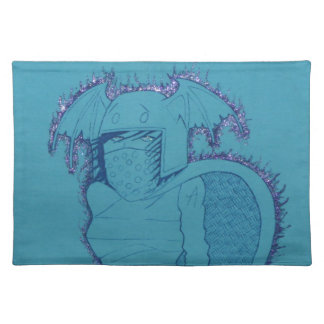 Flaming Ghost Girl Placemat