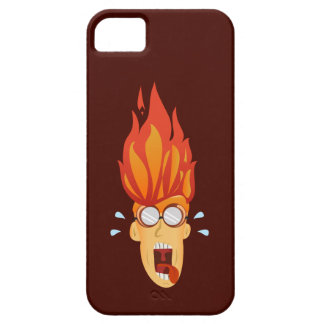 Flaming Hot Head iPhone 5 Cover