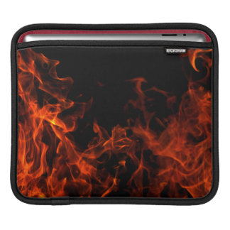 Flaming Ipad Case Sleeves For iPads