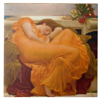 Flaming June 1895 Tile