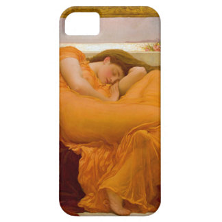 Flaming June by Sir Frederic Leighton iPhone 5 Covers