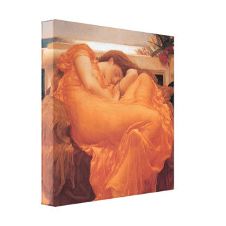 Flaming June ~ Lord Frederick Leighton Canvas Print