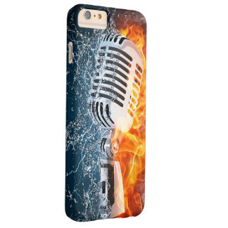 Flaming Microphone iPhone 6 Case