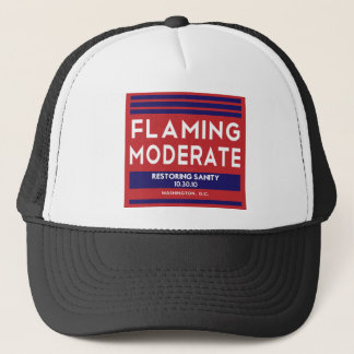 Flaming Moderate Trucker Hat