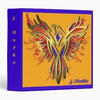 Flaming Phoenix book binder