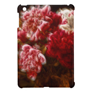 Flaming Red Peony Flower Bouquet Cover For The iPad Mini