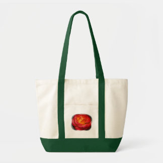 Flaming Rose Tote