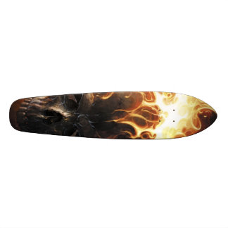 Flaming skull pattern1 skate board decks