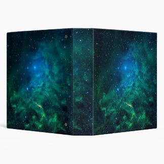 Flaming Star Nebula 3 Ring Binder