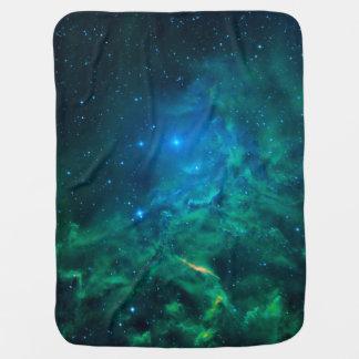 Flaming Star Nebula Baby Blanket