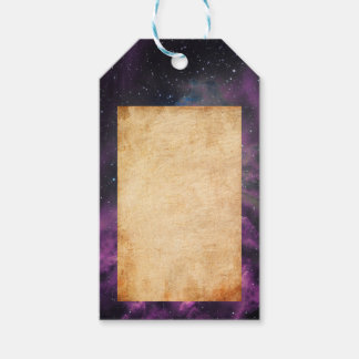 Flaming Star Nebula Gift Tags