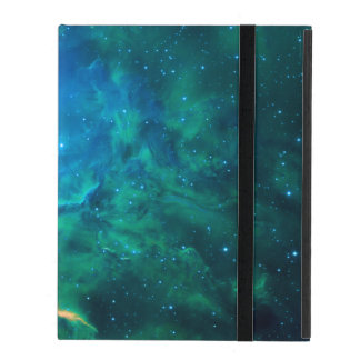 Flaming Star Nebula iPad Folio Case