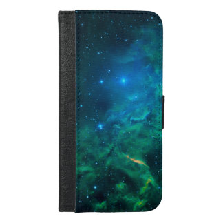 Flaming Star Nebula iPhone 6/6s Plus Wallet Case