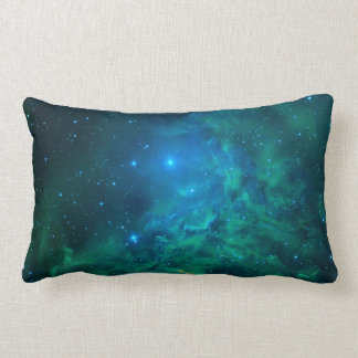 Flaming Star Nebula Lumbar Pillow