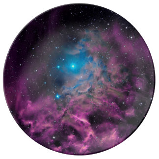 Flaming Star Nebula Plate