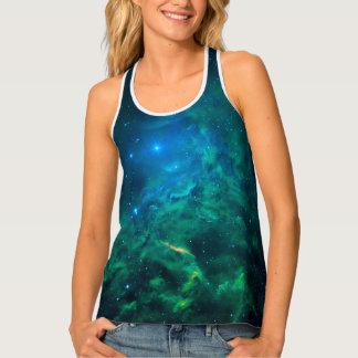 Flaming Star Nebula Tank Top