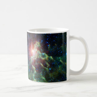 Flaming Star Runner NASA Coffee Mug