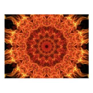 Flaming Sun Postcard