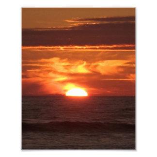 Flaming Sunset Photograph