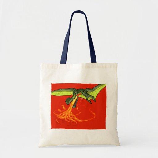 Flaming-throwing Pterodactyl Dinosaur - Sean Moore Bags