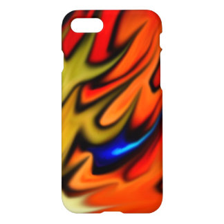 Flaming Tiffany Flow iPhone 7 Case