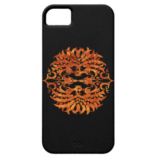 Flaming Tribal Phoenix Case For The iPhone 5