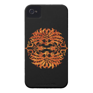 Flaming Tribal Phoenix iPhone 4 Cover