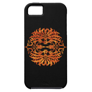 Flaming Tribal Phoenix iPhone 5 Cover