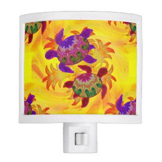 Flaming Turtles Night Lights