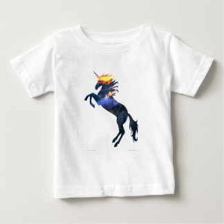 Flaming unicorn baby T-Shirt