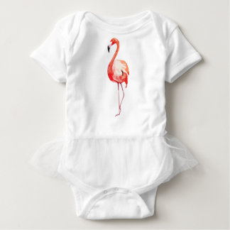 Flamingo_1 Baby Bodysuit