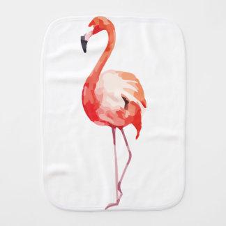 Flamingo_1 Burp Cloth
