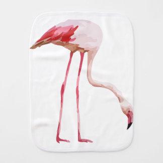 Flamingo_2 Burp Cloth