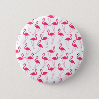 Flamingo 2 Inch Round Button