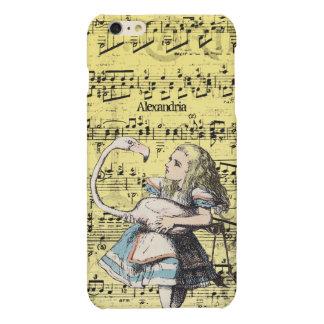 Flamingo Alice in Wonderland iPhone Case